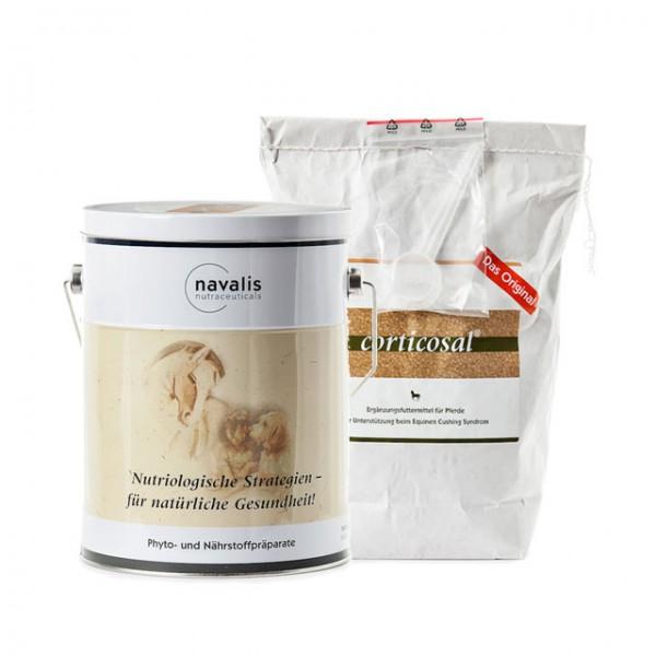 Produktvorschau für Navalis Corticosal® HORSE - 2.000 g - Nachfüllpack